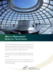 Wealth Management Guide de l'invest...