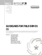 Guidelines for field_demos