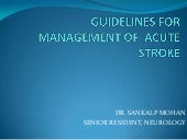 Guidelines for management of acute ...