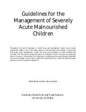 Guidelines for the management of se...