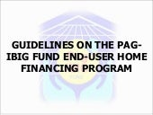 Guidelines On The Pag Ibig Fund End...