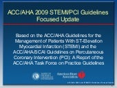 Guidelines stemi.2009 focused updat...