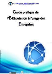 Guide pratique de l'e-reputation à ...