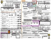 "Ultimate Accounting ""Cheat Sheet"""