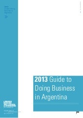 Guide to Doing Business in Argentin...