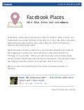 Guide to facebook places.