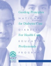 Guiding Principles for Diabetes Care