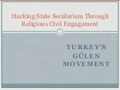 Gulen Movement & Politics in Turkey