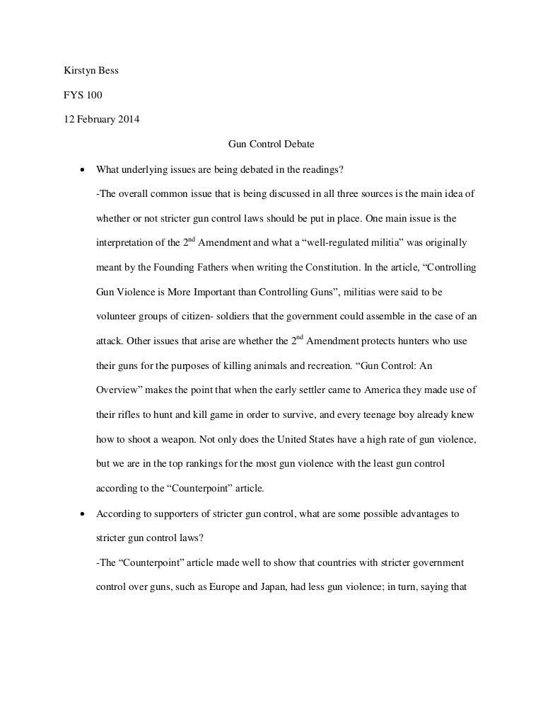 essay on gun violence in schools My Essay Point