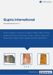Handloom Silk Saree by Gupta intern...