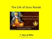 Guru nanak life and teachings