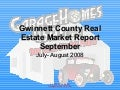 Gwinnett County Real Estate Market Report 9 08