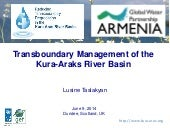 Transboundary Management of the Kura-Araks River Basin - by  by Lusine Taslakyan