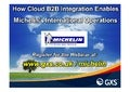 How Cloud B2B Integration Enables Michelin's International Operations