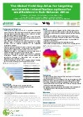The Global Yield Gap Atlas for targeting sustainable intensification options for smallholders in Sub-Saharan Africa