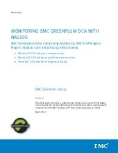 White Paper: Monitoring EMC Greenpl...