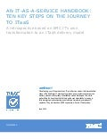 An IT-as-a-Service Handbook: 10 Key Steps on the Journey to ITaaS