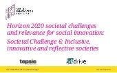 SI LIVE Research Session - H2020 Societal Challenges