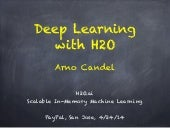 H2O.ai's Distributed Deep Learning Presented at PayPal by Arno Candel 04/24/14