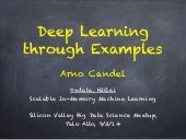 Deep Learning through Examples