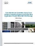 Data Warehouse Scalability Using Cisco Unified Computing System and Oracle Real Application Cluster With EMC VNX Storage