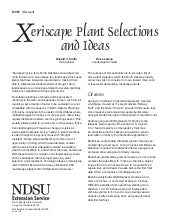 Xeriscape Plant Selections and Idea...