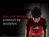 Epic performance powered by analytics
