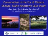Conservation in the Era of Climate ...