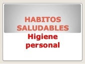 Habitos saludables