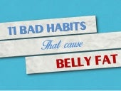 Bad Habits that Cause Belly Fat – E...