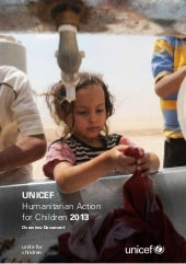 Humanitarian Action for Children 2013