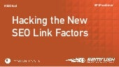 Hacking the New SEO Link Factors Mobile and Local - Michael Stricker at Page One Power Webinar Apr 21 2015