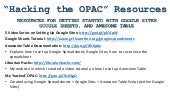 Hack the OPAC: Creating Your Own Library Catalog