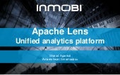 Apache Lens at Hadoop meetup