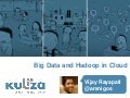 Big Data and Hadoop in Cloud - Leveraging Amazon EMR