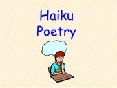 Haiku poetry tutorial