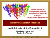 HAIS SOTF Inclusive Classroom Practices
