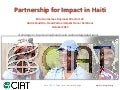 A strategy to improve livelihoods and restore degraded lands in Haiti