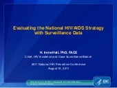 Evaluating the National HIV/AIDS St...