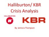 Halliburton Crisis Analysis