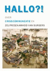 Hallo! over crisiscommunicatie en Z...