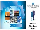 Hancock Holding Co. video