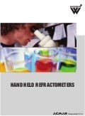 Hand Held Refractometers by ACMAS Technologies Pvt Ltd.