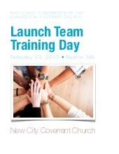 Launch Team Training Handout for Ne...