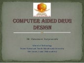 Computer Aided Drug Design ppt