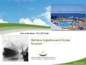 Harbour Logistics And Cruise Tourism
