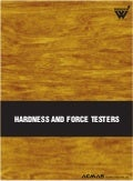 Hardness & Force Testers by ACMAS Technologies Pvt Ltd.