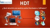 "Diferencia entre ""Hardware y software"""