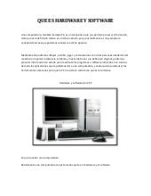 Hardware y software pdf