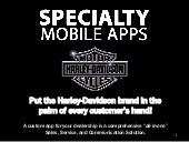Specialty Mobile Apps for Harley Davidson